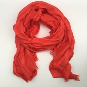 Love Quotes Coral Hamptons Scarf